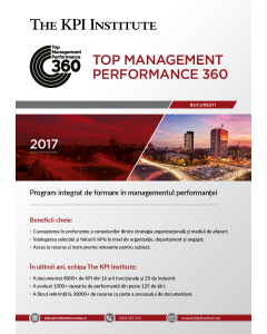 Top Management Performance 360 - Bucuresti