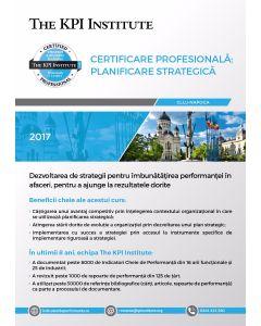 Certificare Profesionala: Planificare Strategica în Afaceri, 23-25 Octombrie in Cluj