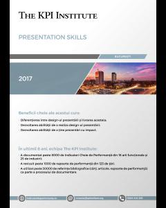 Presentation Skills, 9-10 Noiembrie, Bucuresti