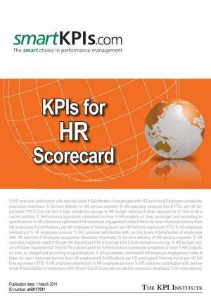 Exemple KPI pentru HR Scorecard