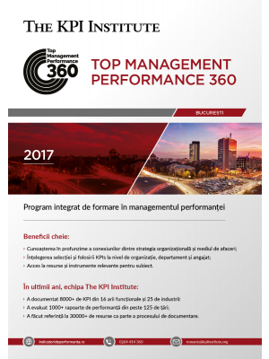 Top Management Performance 360 - 8 Februarie - 11 Mai - Bucuresti