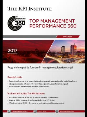 Top Management Performance 360 - 22 Noiembrie 2018 - 26 Ianuarie 2019 - Bucuresti