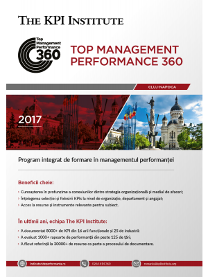 Top Management Performance 360 - 25 Octombrie 2018 - 26 Ianuarie 2019 - Cluj-Napoca