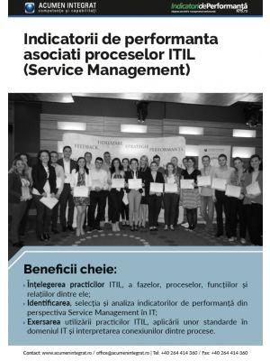 Indicatorii de performanta asociati proceselor ITIL (Service Management)