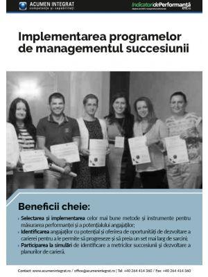 Implementarea programelor de managementul succesiunii