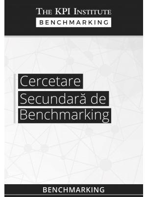 Cercetare secundara de benchmarking