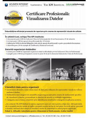 Vizualizarea Datelor 13 - 14 Decembrie Bucuresti