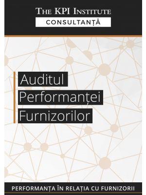 Auditul Performantei Furnizorilor