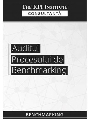 Auditul procesului de benchmarking