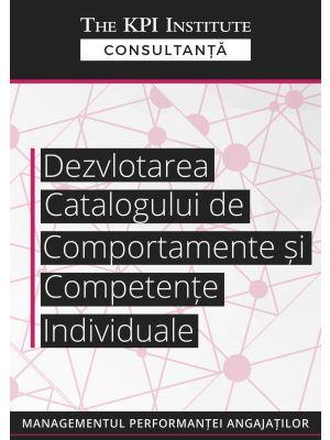 Dezvoltarea catalogului de comportamente si competente individuale