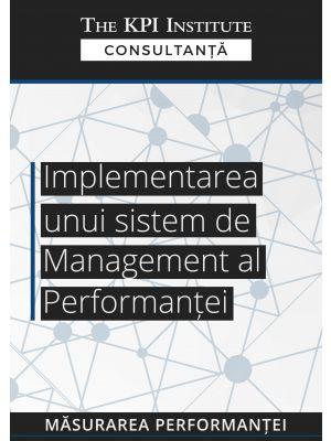 Implementarea unui sistem de managementul performantei