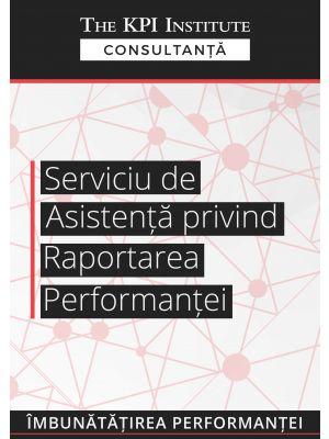 Serviciu de asistenta privind raportarea performantei