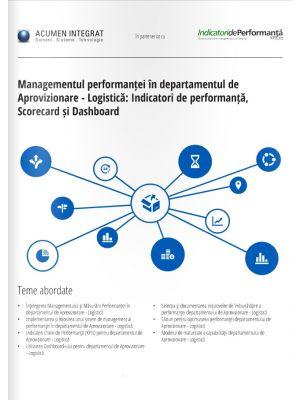 Abordarea strategica a proceselor de Aprovizionare-Logistica
