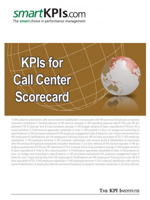 Exemple KPI pentru Scorecardul de performanta al Call Center-ului