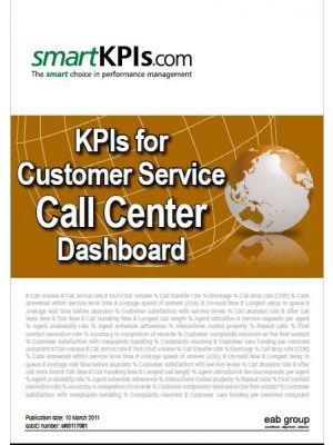 Exemple KPI pentru Dashboardul de performanta al Call Center-ului de serviciul clienti