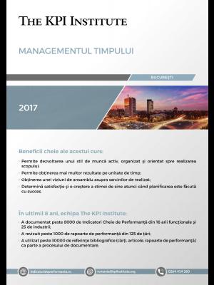 Managementul Timpului, 20-21 Aprilie, Bucuresti
