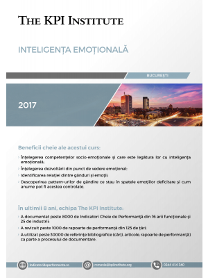 Inteligenta Emotionala, 11-12 mai, Bucuresti