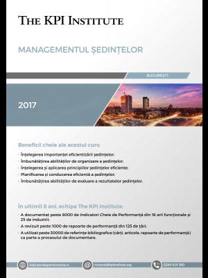Managementul Sedintelor, 28 Aprilie, Bucuresti