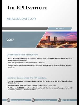Analiza Datelor, 9-10 Martie, Bucuresti