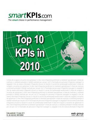 Top 10 KPIs in 2010